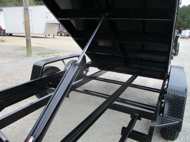 2022 Covered Wagon Trailers Prospector 6x12 Dump Trailer