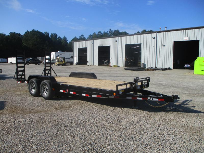 2022 PJ Trailers 18+2 CC Equipment Trailer with 7k Axles