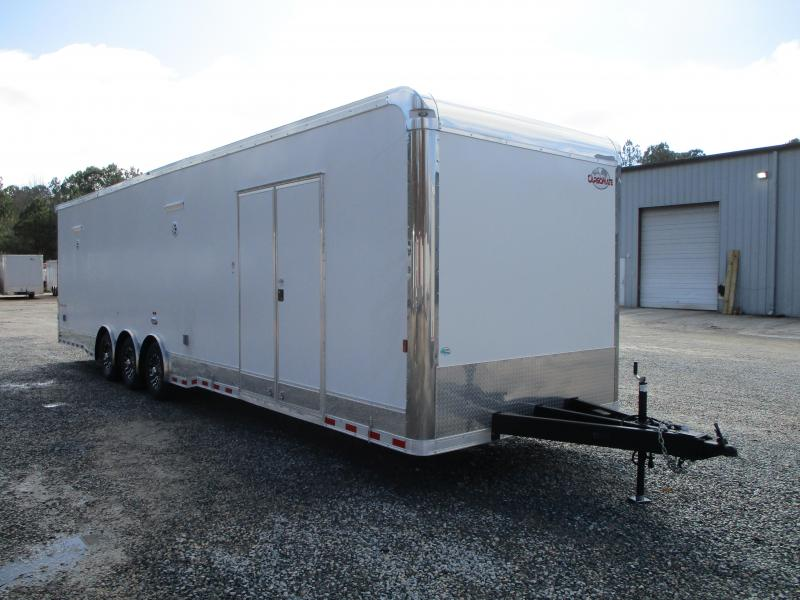2021 Cargo Mate Eliminator SS 34' Loaded Car / Racing Trailer