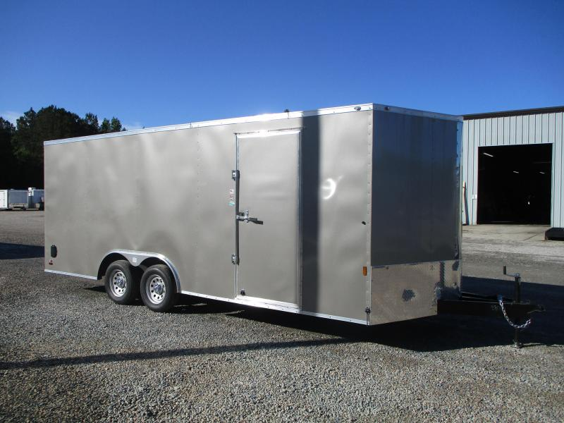 2022 Continental Cargo Sunshine 8.5x20 Vnose Car / Racing Trailer