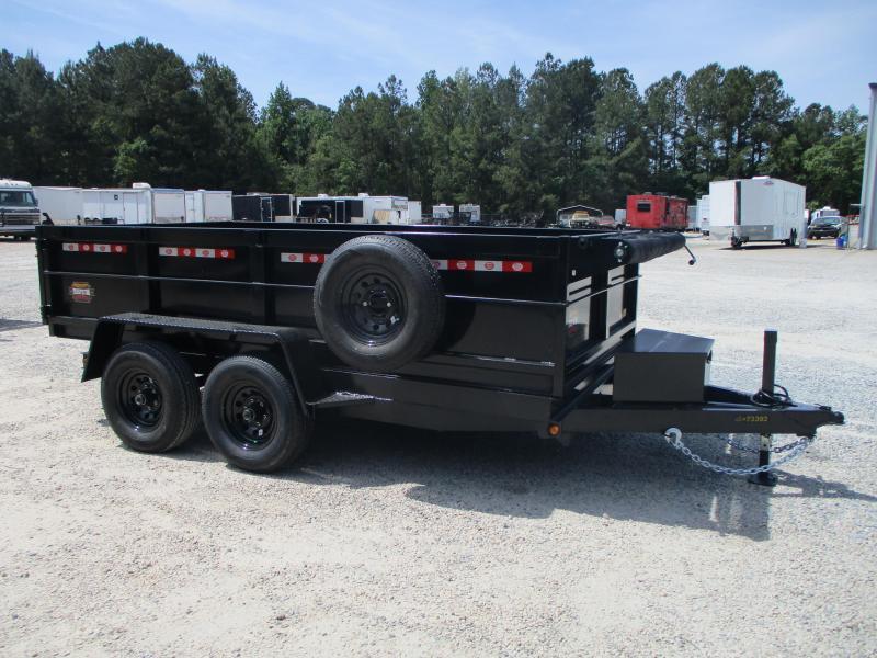 2021 Covered Wagon Prospector 6x12 Dump Trailer with Tarp