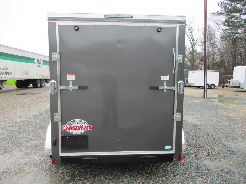 2022 Continental Cargo Sunshine 6x12 Vnose Tandem Axle Enclosed Cargo Trailer with Ramp Door