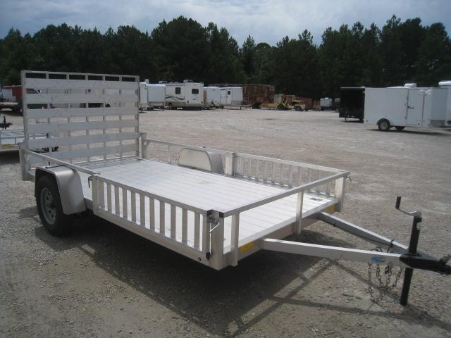 2019 Continental Cargo Rough Rider Aluminum 6.5x12 Utility Trailer