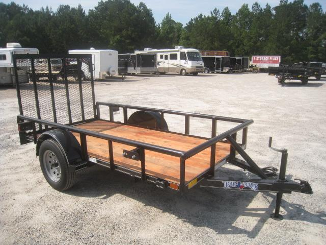 2020 Texas Bragg Trailers Heavy Duty 5x10 Utility Trailer with Rear Gate