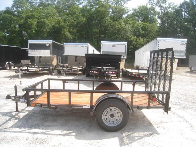 2020 Texas Bragg Trailers Heavy Duty 5x10 Utility Trailer with Rear Gate