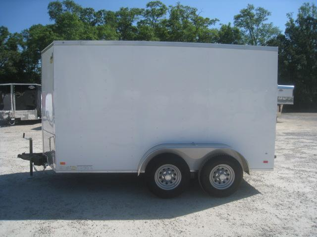 2020 Covered Wagon Trailers Gold Series 6 x 12 Tandem Enclosed Cargo Trailer with Big Axles