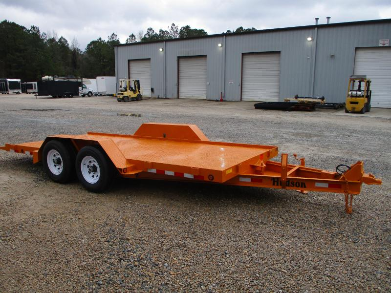 2021 Hudson Brothers HD14 (5) Ton Tilt Bed Equipment Trailer with Full Metal Deck