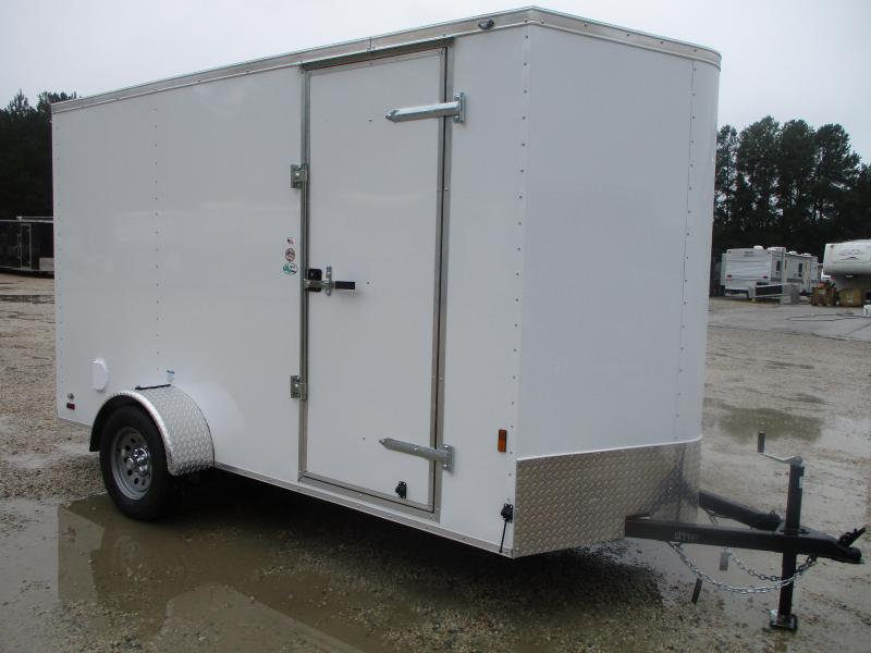 2021 Continental Cargo Sunshine 6x12 Vnose Enclosed Cargo Trailer