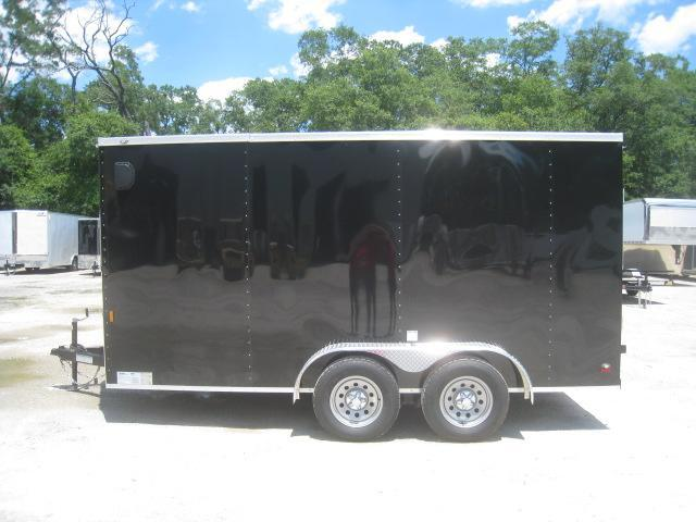 2021 Continental Cargo Sunshine 7x14 Vnose Enclosed Cargo Trailer with Ramp Door