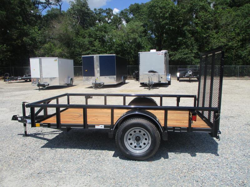 2021 Texas Bragg 5x10P Heavy Duty Utility Trailer with Rear Gate