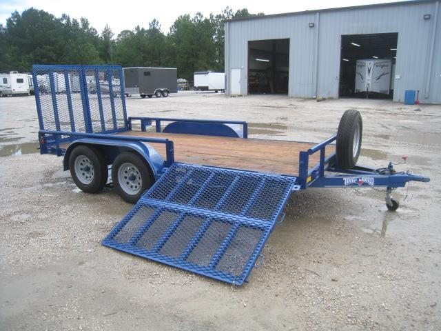 "2020 Texas Bragg Trailers Heavy Duty 60"" X 14' Tandem Axle Utility Trailer with Lots of Extras"