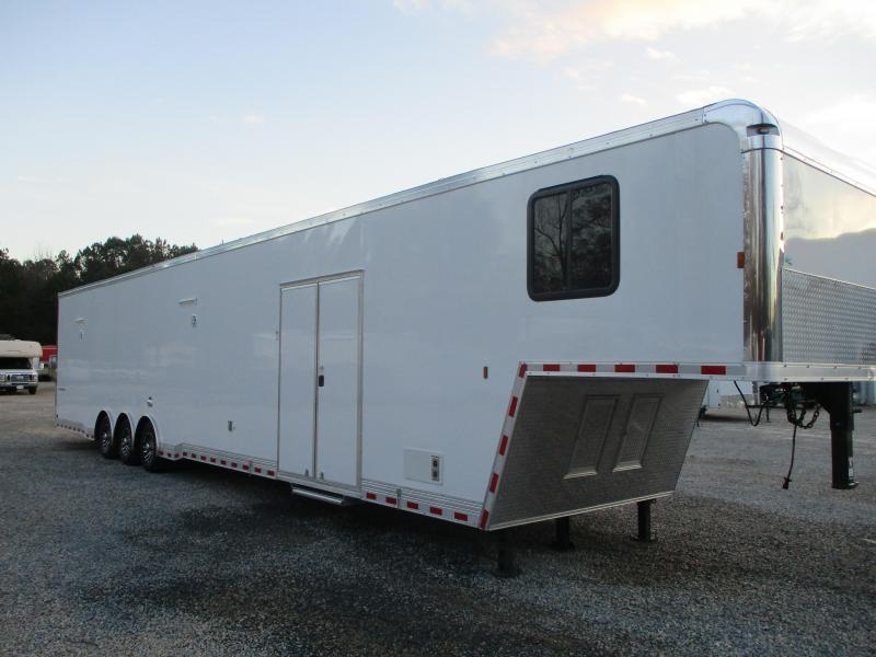 2021 Cargo Mate Eliminator SS 48' Bathroom Trailer Loaded