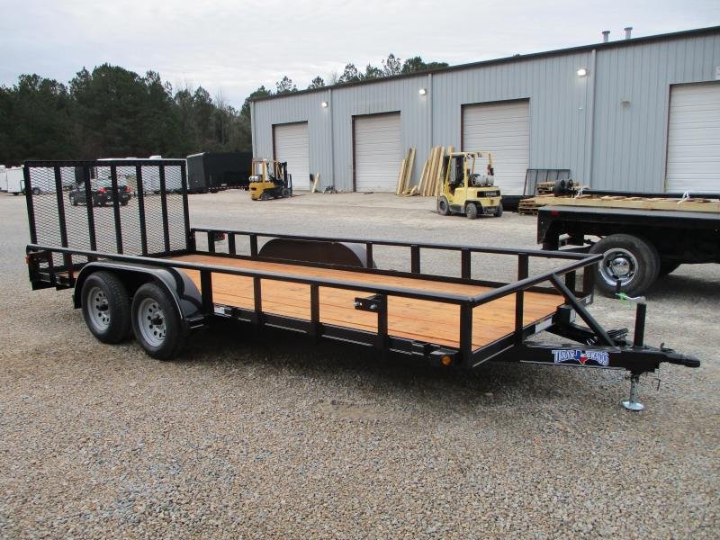 2021 Texas Bragg Trailers 18P Commercial Grade Utility Trailer  with Heavy Duty Rear Gate