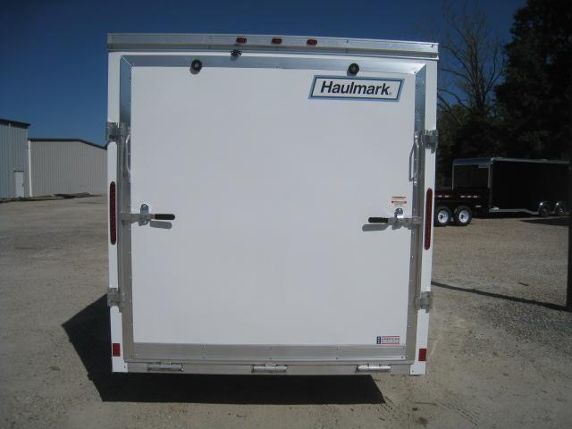2019 Haulmark Aluminum 7 x 14 Vnose Enclosed Cargo Trailer