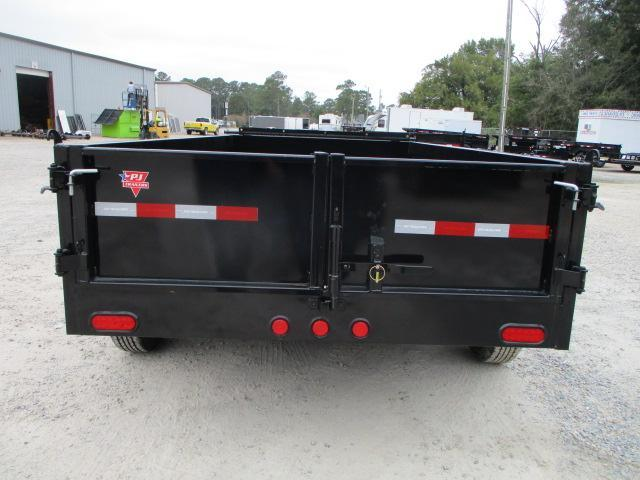 2022 PJ Trailers D3 12x72 Dump Trailer