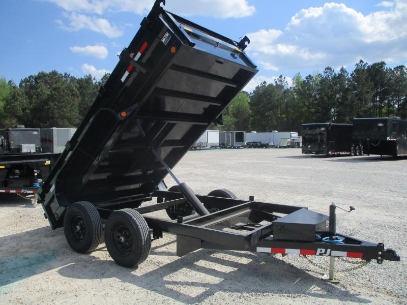 2021 PJ Trailers D3 12 x 72 Dump Trailer with 5200lb Axles