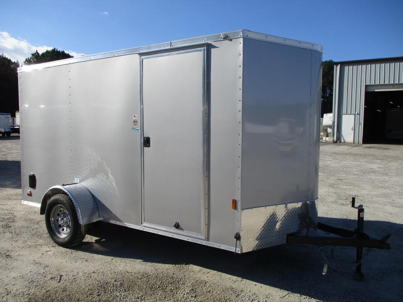 2021 Continental Cargo Sunshine 6x12 Vnose Enclosed Cargo Trailer