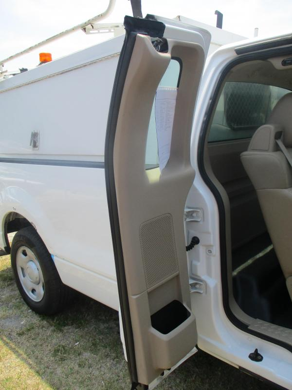 2008 Ford F150 Pickup with Work Topper and Ladder Rack Truck