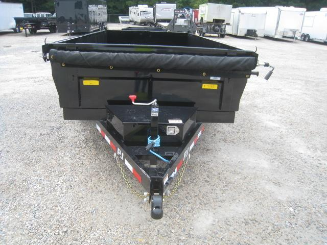 2021 PJ Trailers D3 12 x 72 Dump Trailer with Tarp