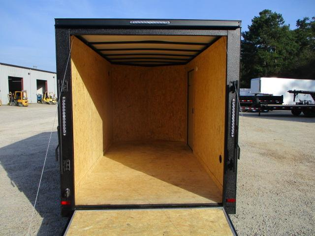2022 Covered Wagon Trailers Gold Series 6x12 Vnose Enclosed Cargo Trailer