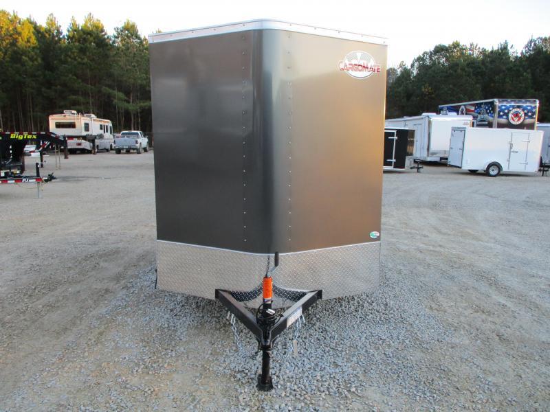2021 Continental Cargo Sunshine 6x10 Vnose Cargo Trailer with Ramp Door