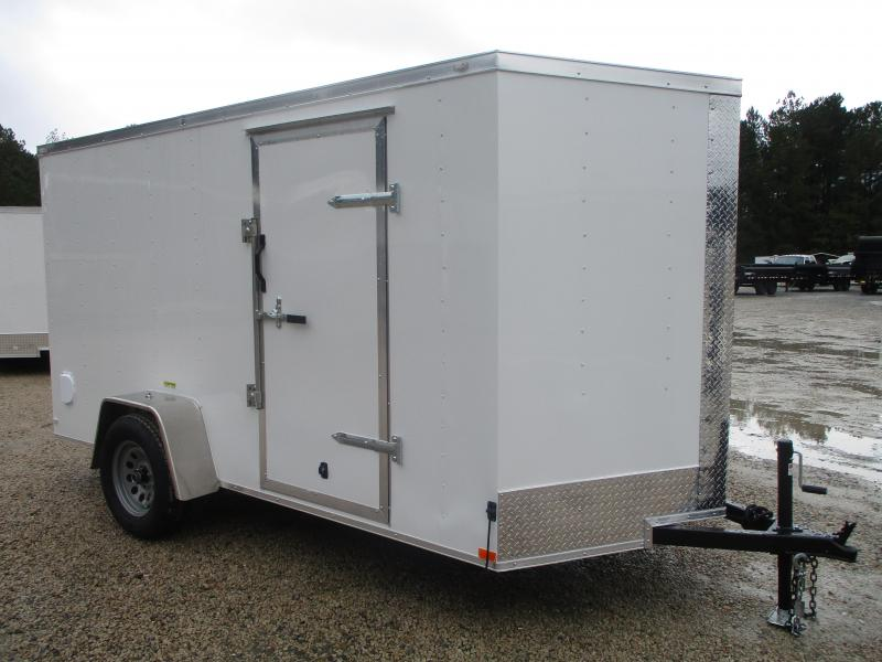 PRICE BUSTER 2021 Lark 6 X 12 Vnose Enclosed Enclosed Cargo Trailer