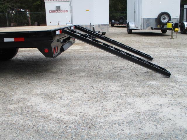 2022 PJ Trailers F8 22' Deckover Equipment Trailer