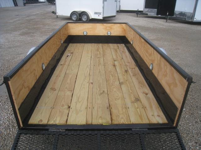 2020 Covered Wagon Trailers Prospector Series 5 x 10 Open Utility Trailer