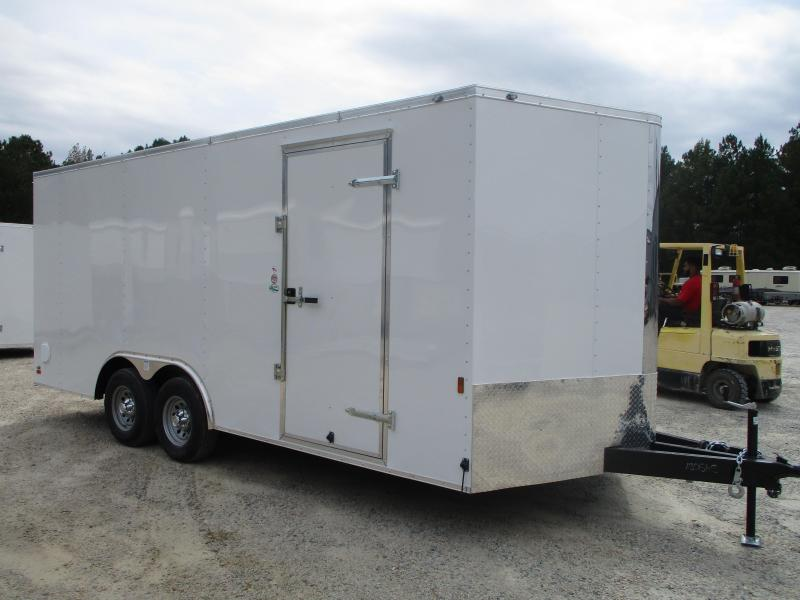 2021 Continental Cargo Sunshine 8.5x18 Car / Racing Trailer with 5200lb Axles