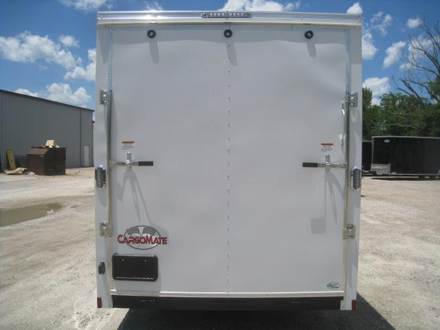 """2021 Continental Cargo Sunshine 7x16 Vnose Enclosed Cargo Trailer with 12"""" Extra Height"""
