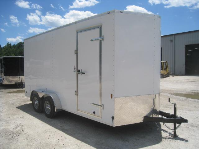 "2021 Continental Cargo Sunshine 7x16 Vnose Enclosed Cargo Trailer with 12"" Extra Height"