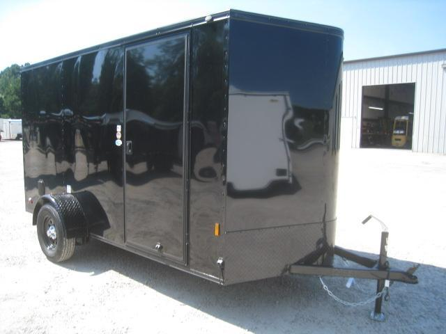 2021 Continental Cargo Sunshine 6x12 Vnose Enclosed Cargo Trailer with Ramp