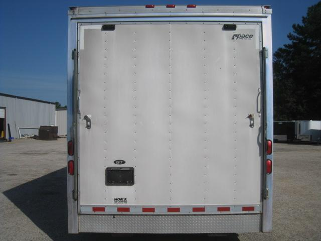 2006 Pace American Shadow 28 Car / Racing Trailer with 1/2 Bath and Generator