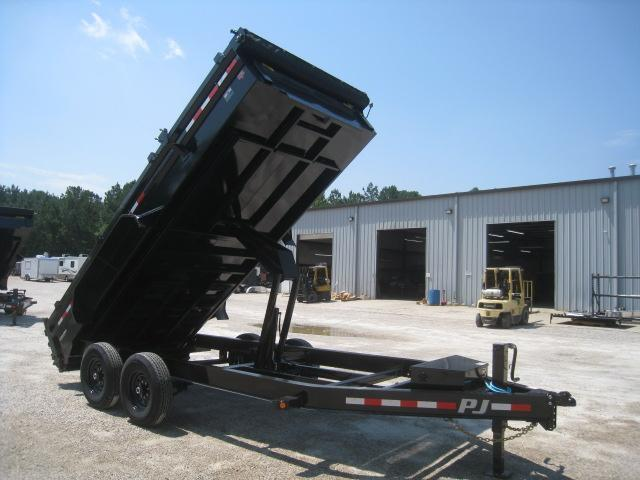 2021 PJ Trailers DL 16 x 83 Dump Trailer with Tarp