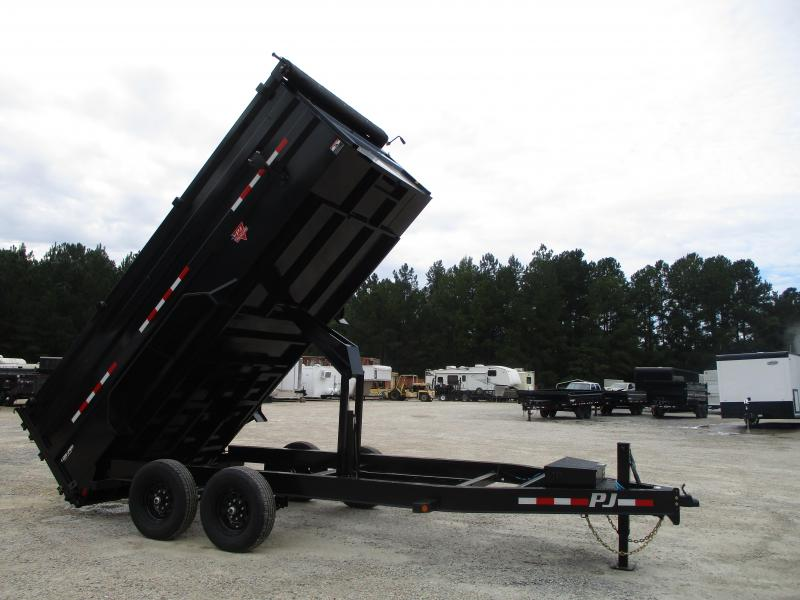 2021 PJ Trailers DM Low Pro 83 x 16 High Side Dump Trailer