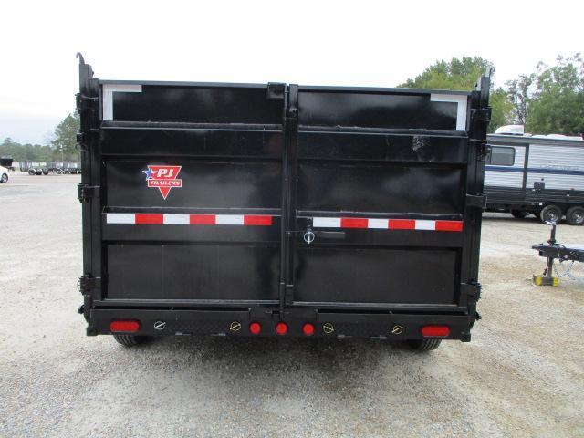 2022 PJ Trailers DM 14X83 High Side Low Pro Dump Trailer
