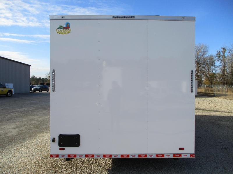 2021 Covered Wagon 8.5 x 26 Concession Trailer with Hood and Sink Package