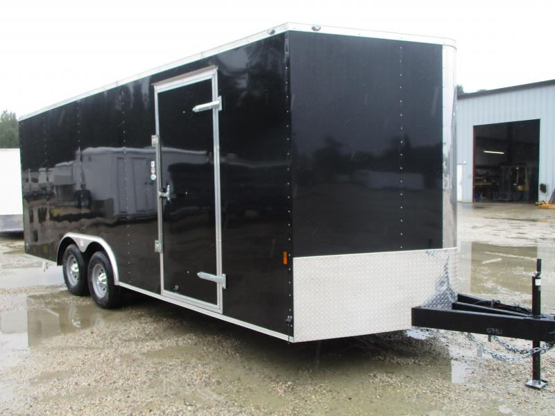 2021 Continental Cargo Sunshine 8.5x20 Vnose Car / Racing Trailer