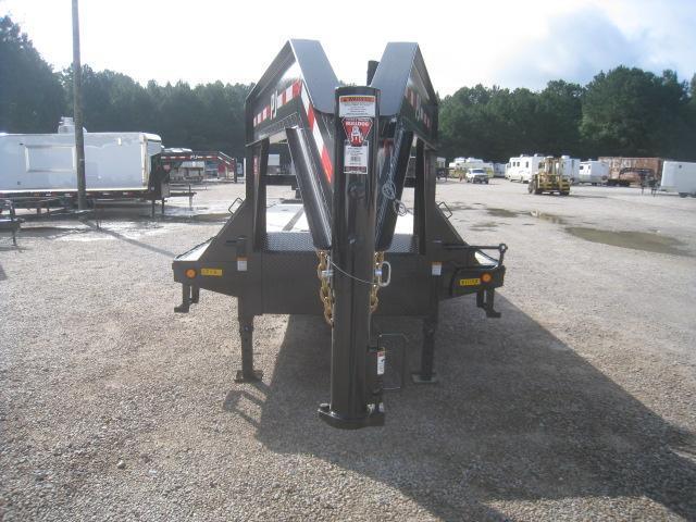 2021 PJ Trailers LD 30' Low Pro Gooseneck Deckover Equipment Trailer