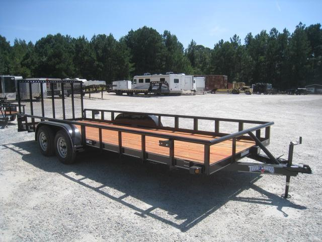 2020 Texas Bragg Trailers 20P Heavy Duty Utility Trailer