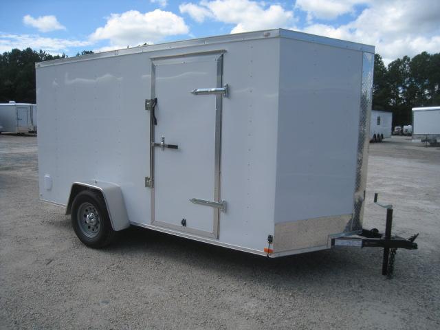 PRICE BUSTER 2020 Lark 6 X 12 Enclosed Cargo Trailer with Ramp Door