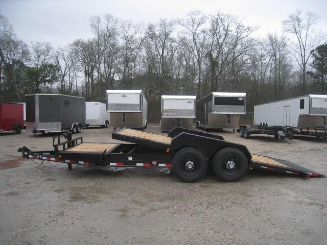 2020 PJ Trailers TJ 16 + 4 Tilt Bed Equipment Trailer