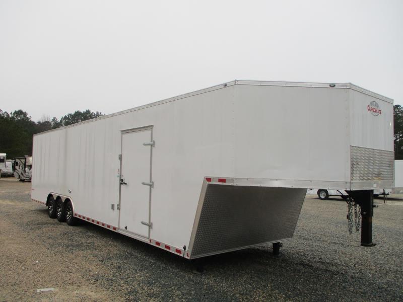 2021 Cargo Mate Eliminator 40' Gooseneck Race Trailer with Extras