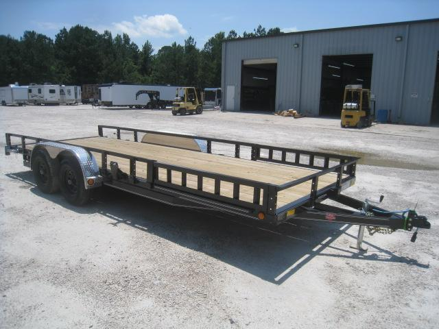 "2020 PJ Trailers UL 20' x 83"" Utility Trailer with 5200lb Axles"