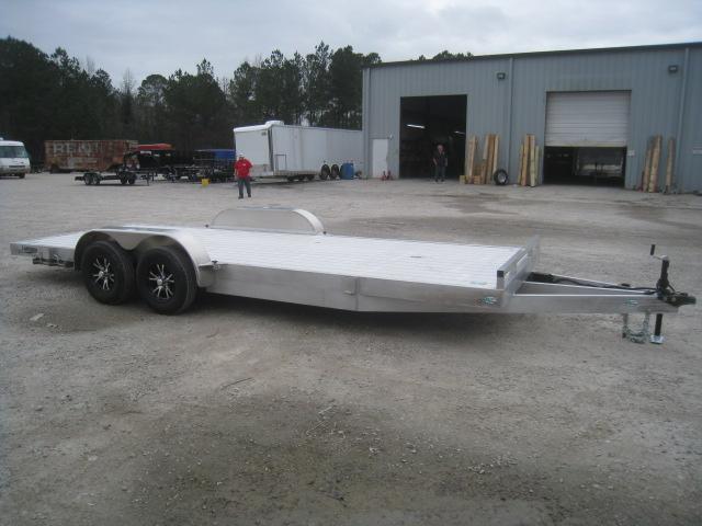 2020 Continental Cargo Lightning 20' Aluminum Open Car / Racing Trailer