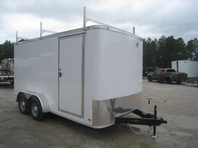 CONTRACTOR SPECIAL 2020 Covered Wagon Trailers Gold Series 7x14 Enclosed Cargo Trailer with Extras
