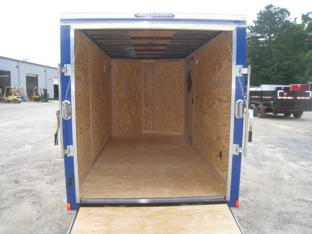 2021 Continental Cargo Sunshine 6x12 Enclosed Cargo Trailer with Ramp Door