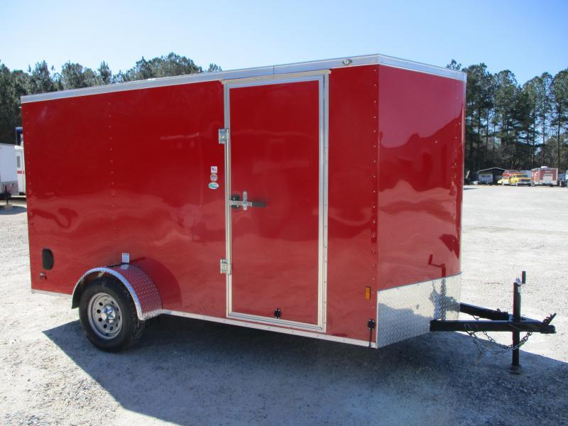 2022 Continental Cargo Sunshine 6x12 Vnose Enclosed Cargo Trailer