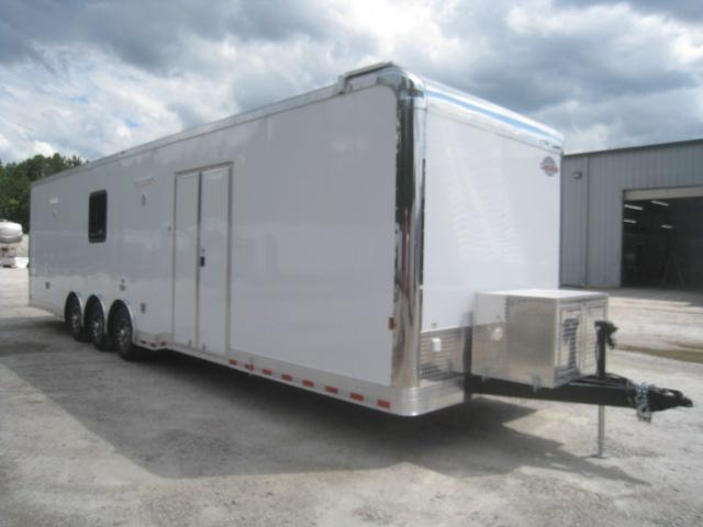 2021 Cargo Mate Eliminator SS 34' Car / Racing Trailer with Full Bath Package