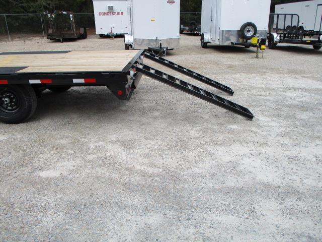 2022 PJ Trailers F8 20' Deckover Equipment Trailer